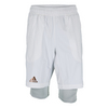 ADIDAS Men`s Adizero Bermuda Tennis Short White