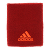 ADIDAS Large Tennis Wristband Power Red and Solar Red