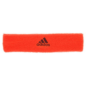 Tennis Headband Solar Red and Maroon