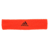 ADIDAS Tennis Headband Solar Red and Maroon