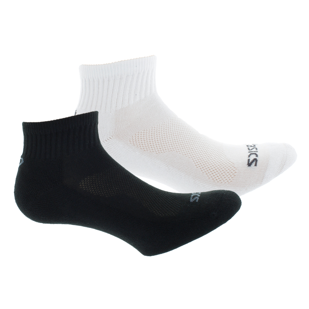 Cushion Quarter Tennis Socks