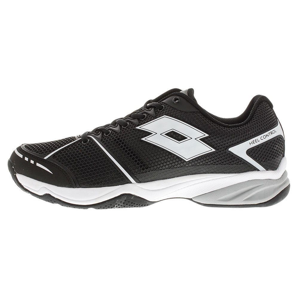 lotto s viper ultra tennis shoes black and white