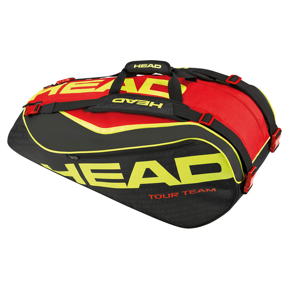 Extreme 9r Supercombi Tennis Bag Black And Red
