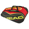 Extreme 12R MonsterCombi Tennis Bag Black and Red by HEAD