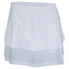 Women`s Club Whites 13.5 Inch Tennis Skort by BOLLE