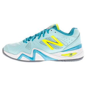 Women`s 1296v1 D Width Tennis Shoes Sea Glass and Arctic Blue
