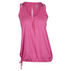 K-SWISS Women`s 66 Tennis Top Shocking Pink and White