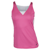 K-SWISS Women`s 66 Tennis Tank Shocking Pink and White