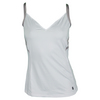 K-SWISS Women`s 66 Tennis Tank II White and Gull Gray
