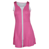 K-SWISS Women`s 66 Tennis Dress Shocking Pink and White
