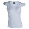 BOLLE Women`s Club Whites Cap Sleeve Tennis Top