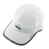 ADIDAS Women`s Adizero II Tennis Cap White and Frozen Blue