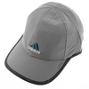 ADIDAS Women`s Adizero II Tennis Cap Gray and Black