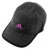 ADIDAS Women`s Adizero Extra Tennis Cap Black and Flash Pink