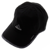 ADIDAS Men`s Adizero II Tennis Cap Black and Gray