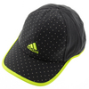 ADIDAS Women`s Adizero Extra Tennis Cap Dark Gray and Solar Yellow