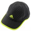 ADIDAS Women`s Adizero Extra Tennis Cap Dark Gray and Solar Yellow