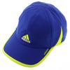 ADIDAS Men`s Adizero II Tennis Cap Collegiate Royal and Solar Yellow