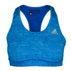 ADIDAS Women`s Techfit Bra Bright Cyan Heather Print