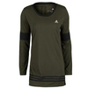 ADIDAS Women`s 3-Stripes Tunic Night Cargo and Black