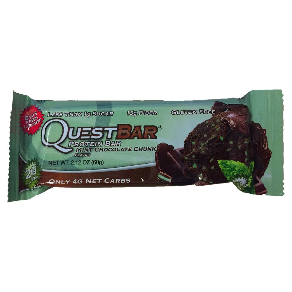 Mint Chocolate Chunk Protein Bar