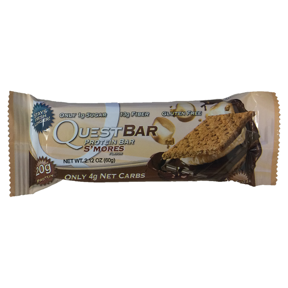 S ` Mores Protein Bar