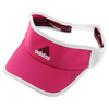 ADIDAS Women`s Adizero II Tennis Visor Bold Pink and White