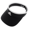 ADIDAS Women`s Match Tennis Visor Black and White