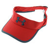 Men`s Shadow Visor 2.0 Red and Wire by UNDER ARMOUR