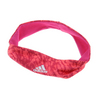 ADIDAS Women`s Performer Tennis Hairband Bold Pink and Print