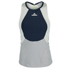 ADIDAS Women`s Stella McCartney New York Tennis Tank Midnight Gray and Glacial