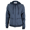 ADIDAS Women`s Stella McCartney Barricade Warm-Up Tennis Jacket Midnight Gray