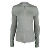 ADIDAS Women`s Stella McCartney Midlayer Warm-Up Tennis Jacket Pearl Gray