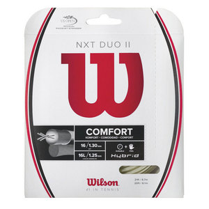 NXT Duo II (NXT 16/Luxilon Adrenaline 125) Tennis String