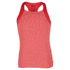 WILSON Girls` Striated Racerback Tennis Tank Papaya