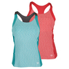 WILSON Women`s Striated Racerback Tennis Tank