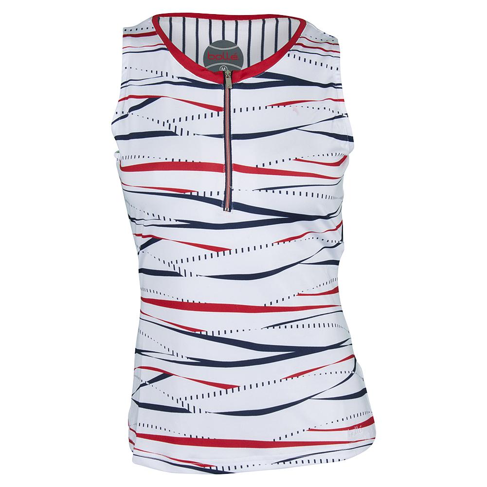 Women`s Americana Tennis Tank White