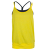 LIJA Women`s Bringing Sexy Back Tank Lemon and Graphite