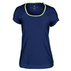 ADIDAS Women`s All Premium Tennis Tee Midnight Indigo