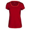 ADIDAS Women`s All Premium Tennis Tee Power Red