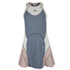 ADIDAS Girls` Stella McCartney Tennis Dress Urban Sky and New Rose