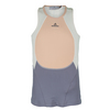 ADIDAS Girls` Stella McCartney Tennis Tank Soft Powder Melange and Platinum Mauve