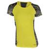 LIJA Women`s Intensity Tee Lemon and Print