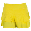 LIJA Women`s Match Tennis Skort Lemon