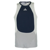 ADIDAS Girls` Stella McCartney Tennis Tank Urban Sky Melange and Glacial