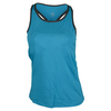 TAIL Women`s Rey Racerback Tennis Tank Optic Seaside
