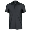 ADIDAS Men`s All Premium Tennis Polo Dark Gray