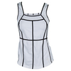JOFIT Women`s Martini Swanky Tennis Tank White