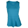 TAIL Women`s Lucille V-Neck Tennis Tank Optic Seaside