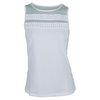 CHRISSIE BY TAIL Women`s Coralie Tennis Tank White